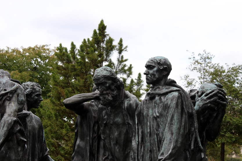Burghers of Calais [detail] © Russell Smith, 2013