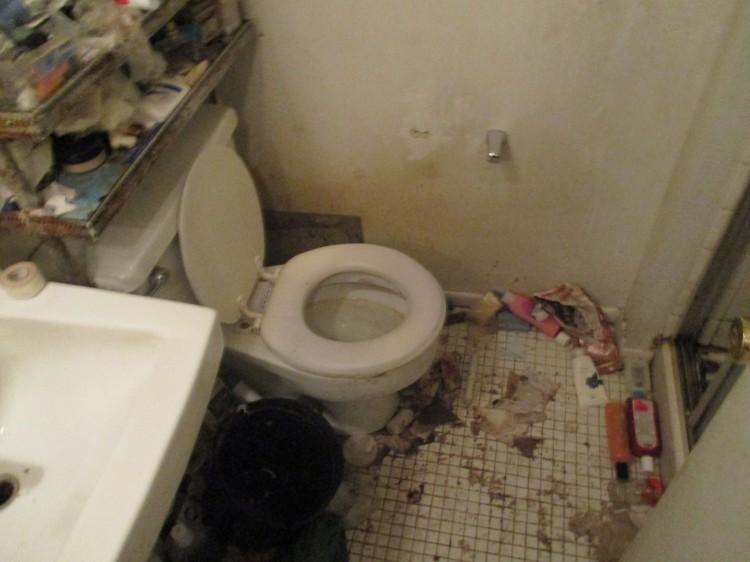 Mike bathroom