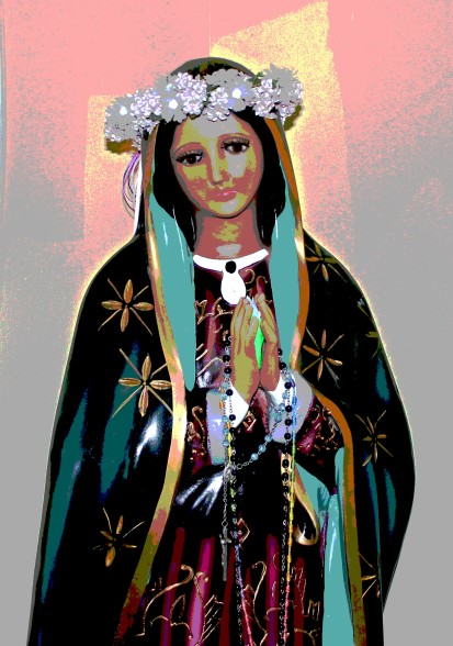 Hail, Mary full of grace