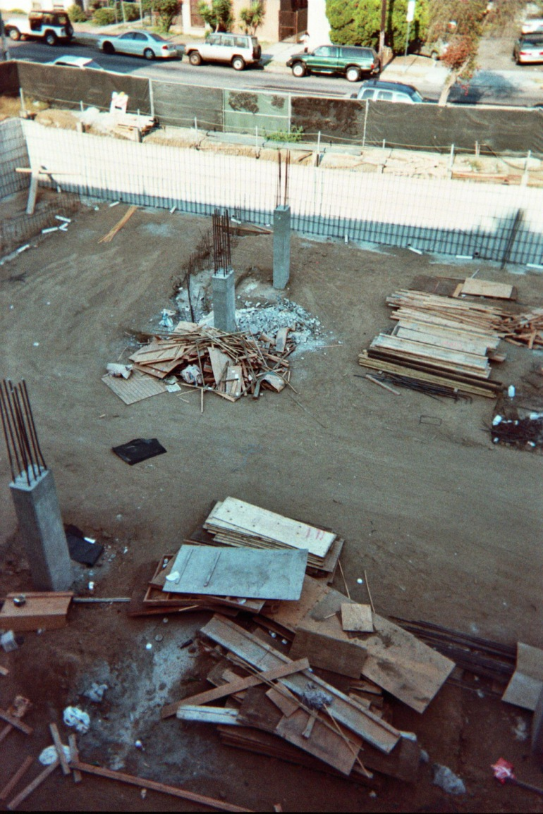 Hollywood construction 2