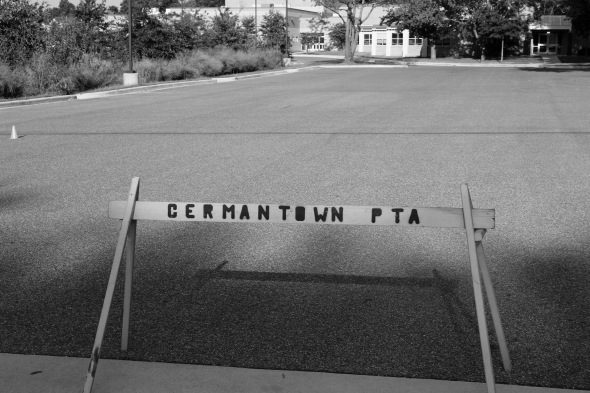 Signage Germantown PTA_bw