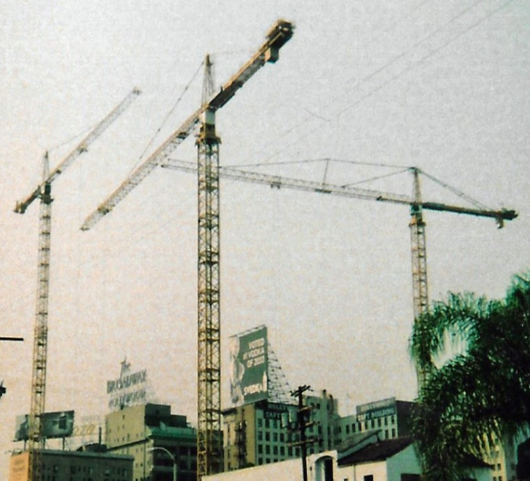 Hollywood cranes 2