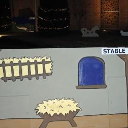 Away in a manger...