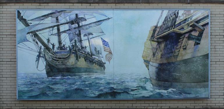 Mural Navy Academy