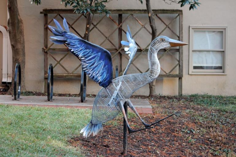 Sculpture bird 1