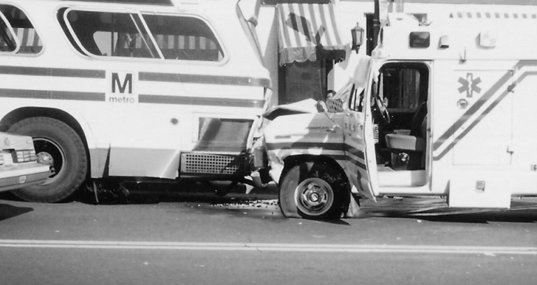 Accident 1 bw