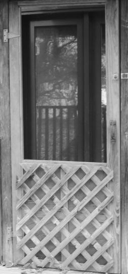 Door 1 bw
