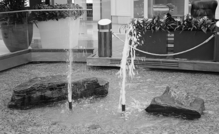 Fountain bw 1