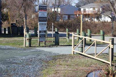 Gate at Hillsmere Beach