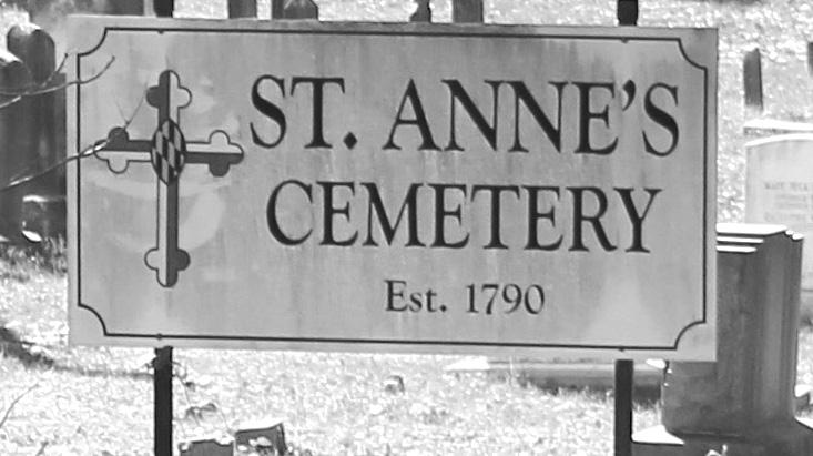 Saint Anne's bw