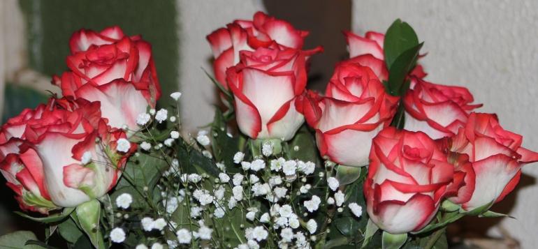 Bouquet 4 roses