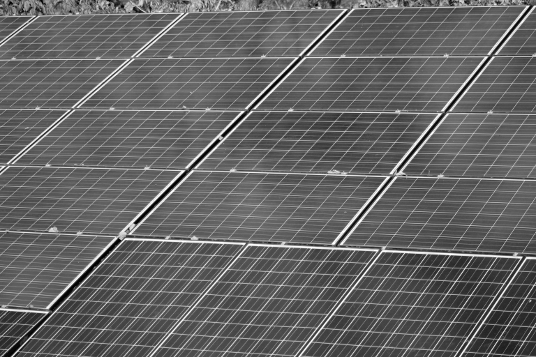 Solar panels 1 bw