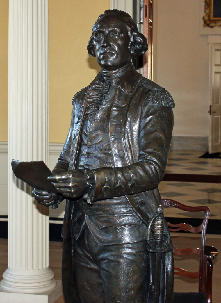 Statue Pitt 1