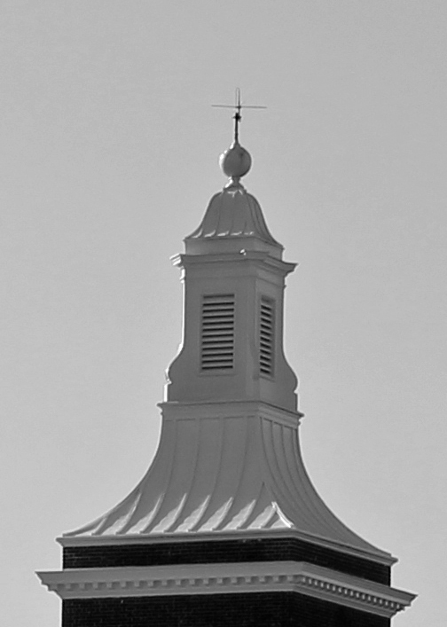 Dome 2 exterior bw