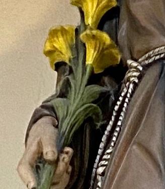 Saint Anthony of Padua detail 2