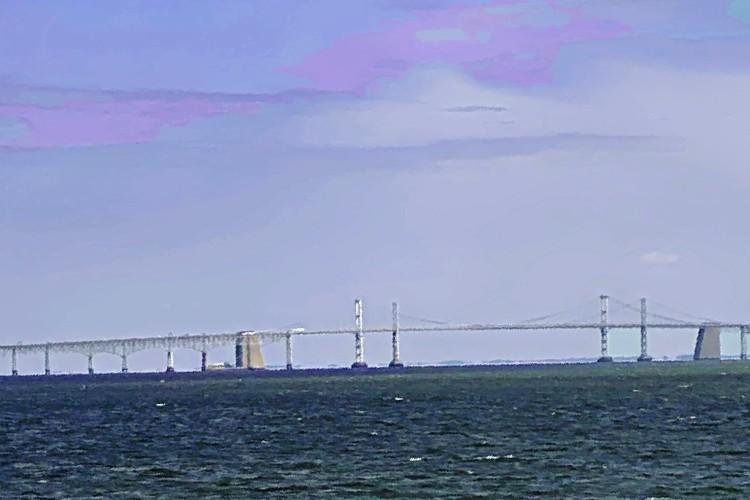Bay Bridge 1 painting